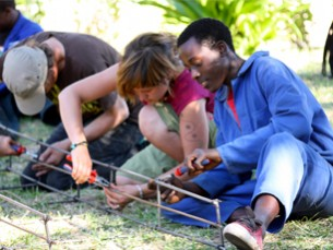 Ein Spielplatz in Inhambane – fünfte Partnerschaftsreise nach Mosambik