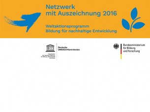 Ausgezeichnet als Netzwerk beim UNESCO-Weltaktionsprogramm